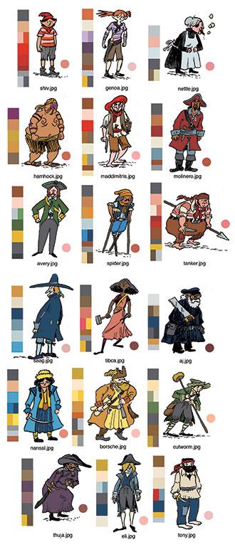 WalkerBean_Characters