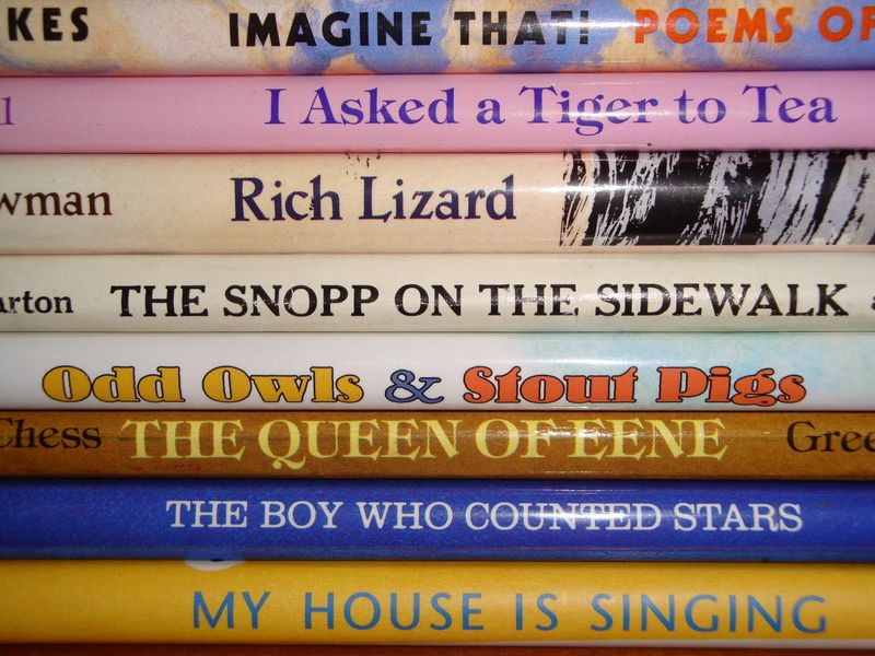 Book Spine Poems 123
