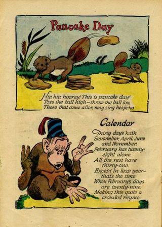 Pancake and calendar001